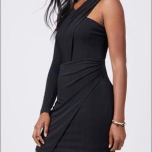 BCBG Generation Little Black Wrap Dress